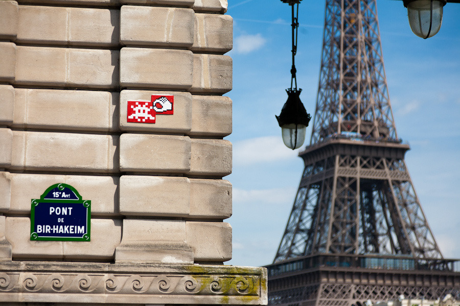 Space Invaders A  Paris