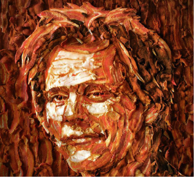Kevin Bacon Mosaic