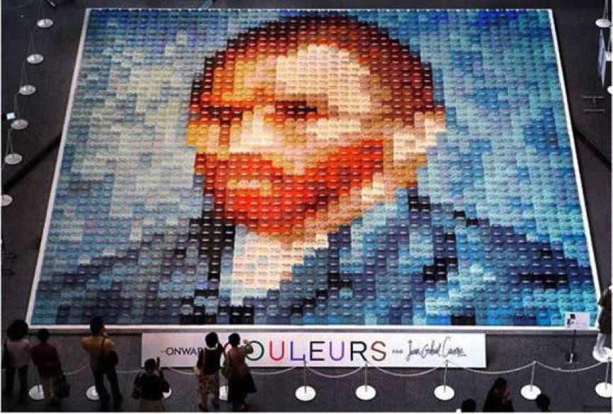 Van Gogh Polo Shirt Mosaic