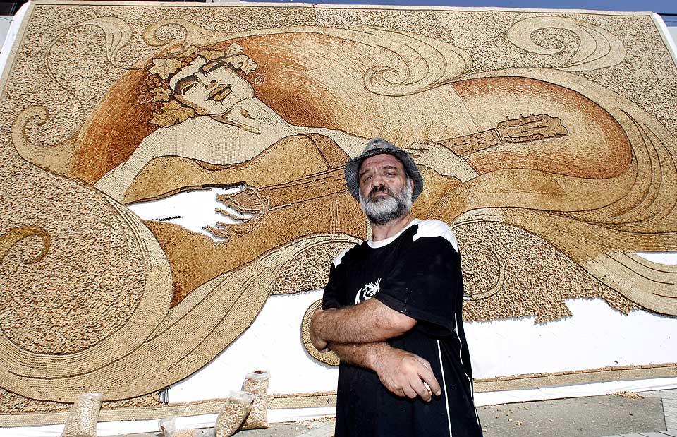 Saimir Strati A Unique Mosaic Artist