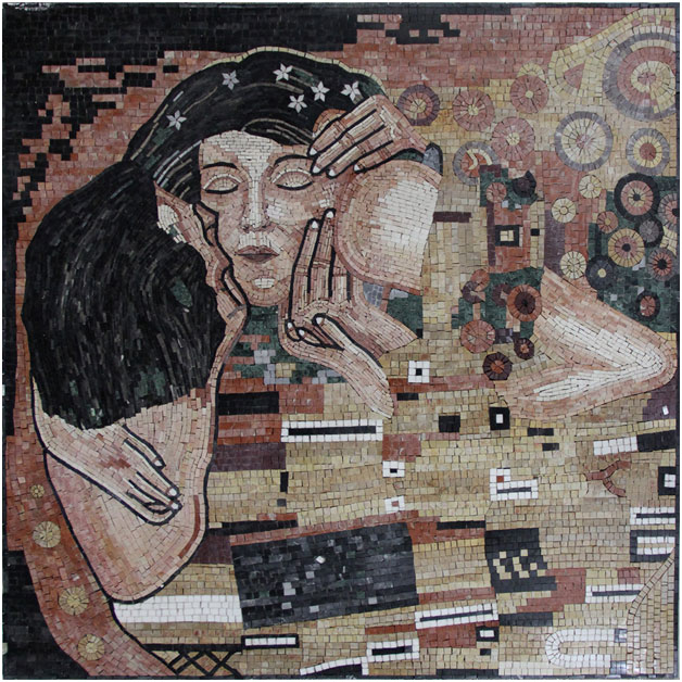 klimt-the-kiss-mosaic