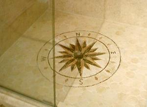 bathroom-floor-mosaic-medallion