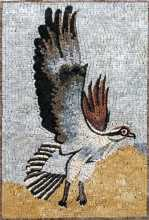 AN134 Eagle with spread wings Mosaic