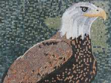 AN221 Eagle head Mosaic