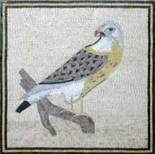 AN43 Eagle on branch elegant Mosaic