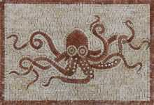 AN924 Octopus Day Out  Mosaic