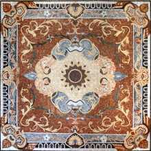 CR155 Classic square rug design Mosaic