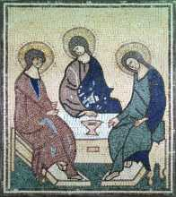 Magdalane, Salome & Mary mother of James Mosaic