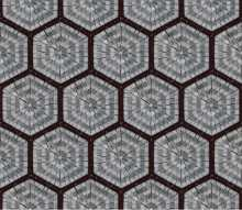 GEO2705 Repetitive Hexagon Pattern Tile Marble Mosaic