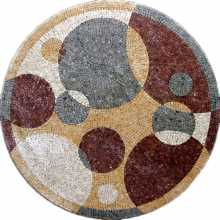 MD216 Bubbles  art Mosaic