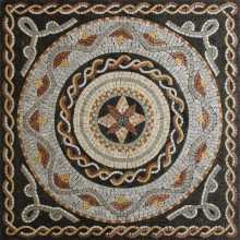 Square Floor Inlay Wash Home Art Mosaic